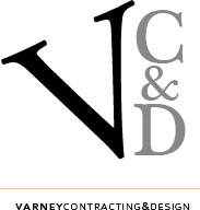 Varney Contracting & Design Logo